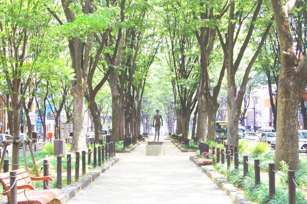 仙台の街並